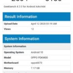OPPO A92s 5G with Dimensity 800 appears on Geekbench ahead of launch